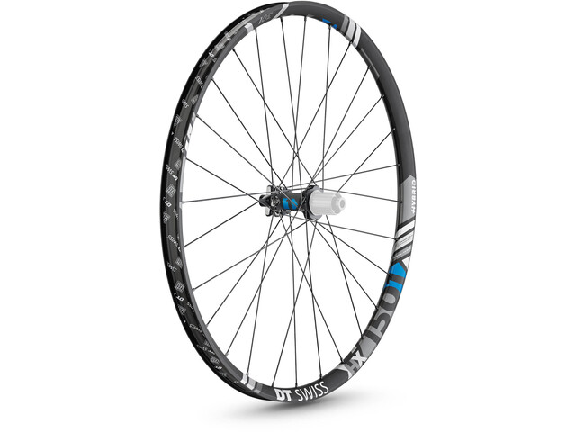 "DT Swiss HX 1501 Spline Rear Wheel 29"" Disc 6-Bolt 148/12mm Thru-Axle MicroSpline, black"
